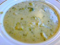 brocolli, califlower cheese soup
