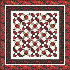 Poppy Grove Field of Flowers Free Quilt Pattern by Kathie Donahue for Timeless Treasures Quilt Patterns Free, Applique Quilts, Quilt Top, Quilting Designs, Poppies, Fabric, Flowers, Projects, Etsy