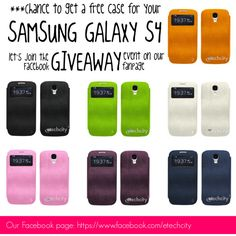 """""""Giveaway! Free Samsung S4 case!!!"""" by etechcity on #Polyvore  #giveaway #free #gift #win #follow #pin #like"""