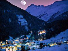 St. Anton am Arlberg, Tirol, Austria - Some of the best skiing ever