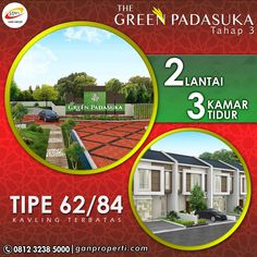 Tahap 1 & 2 SOLD OUT tapi belum dapat hunian di PADASUKA? Tenang sekarang The Green Padasuka dibuka Tahap 3!  Beli NUP untuk dapat HARGA PERDANA! Tersedia Tipe 62/84 STANDARD! 2 Lantai dapat 3 Kamar Tidur!  Info pemesanan hubungi SEGERA 0812 3238 5000 (Telp/WA) Spek dan Pricelist cek di www.ganproperti.com  #house #rumahnyaman #properti #perumahan #property #realestatelife #realestate #rumah #rumahminimalis #rumahku #rumahbandung #perumahanbandung #transstudiomall #website #jualrumah…