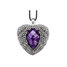 Thomas Sabo Feather Heart Necklaces