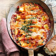 Spinach Cannelloni with Fontina