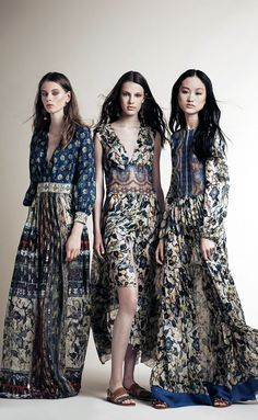Alberta Ferretti Resort 2016 Fashion Show Collection: See the complete Alberta Ferretti Resort 2016 collection. Look 6 Gypsy Style, Hippie Style, Bohemian Style, Boho Chic, Bohemian Art, Boho Gypsy, Hippie Boho, Boho Fashion, High Fashion