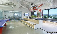 DreamHost Brea Office Interior // O + A | Afflante.com