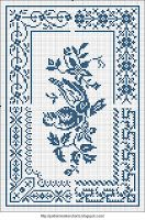 Gratis Gemakkelijk Kruis, Patroonmaker, PCStitch Grafieken + gratis historische oude Patroon Books: Sajou Geen 658
