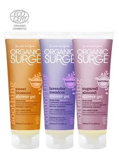 Awash With Goodness Shower Gel Bundle - organic surge - www.organicsurge.com