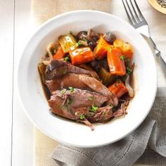 Beer-Braised Roast with Root Vegetables- followed the recipe exactly ...