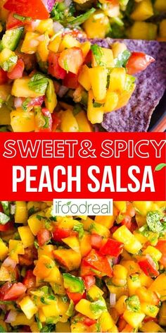 Peach Salsa Recipes, Fruit Recipes, Summer Recipes, Real Food Recipes, Picnic Recipes, Picnic Ideas, Picnic Foods, Side Dishes For Salmon, Healthy Side Dishes