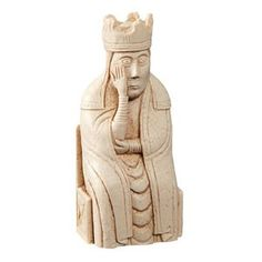 Queen Lewis Chess Piece