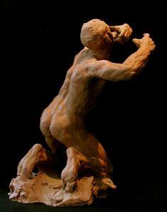 Terre cuite originale du sculpteur Guy Le Perse. http://leperse.free.fr