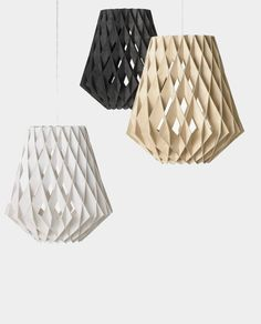 origami pendant lighting —Tuukka Halonen
