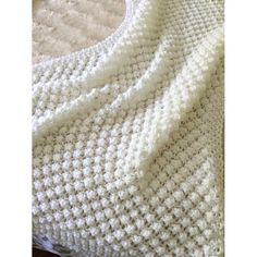 An easy pattern with a lovely open and lightweight feel, the bobbles give the feeling of a chunky blanket without the heaviness.You will need approx 250 grams of Aran yarn and a pair of 8 mm knitting needles. UK size ( I used circular needles becau Crochet Blanket Patterns, Baby Blanket Crochet, Baby Knitting Patterns, Baby Patterns, Crochet Baby, Hand Knitting, Knitting Needles, Knitting Ideas, Knitting Stitches