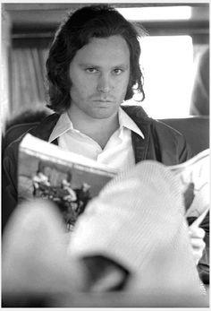 Jim Morrison by Henry Diltz, Los Angeles, 1969