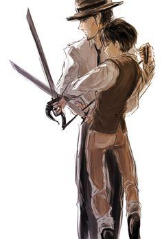 Levi and Kenny Ackerman | Attack on Titan / Shingeki no Kyojin #anime
