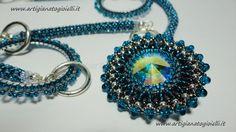 Video #Creazioni - Collezione #Musica - #Collana #Adele #jewellerymaking #beading #bead #bijouxbeads #jewellery