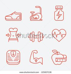 Exercise Stock Vectors & Vector Clip Art | Shutterstock