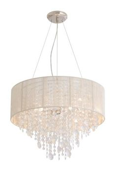 Got a modern vibe going on in your room? Our String Chandelier light will go