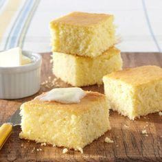 Buttery Corn Bread- I lost this recipe a while ago and just found it online. This is the best corn bread ever! JN