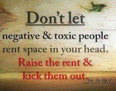 Kick them out!