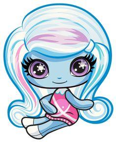 Todo sobre Monster High: Artworks/PNG de las Monster Minis - Original Ghouls