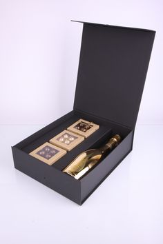The combination of wine and chocolate is a real delight for the senses. Luxury gift set of selected products of your choice: 3 best combinations Dark Chocolate + aged port wine. #luxury   #gourmet   #luxurywine   #handmadechocolate by www.luxpac.com