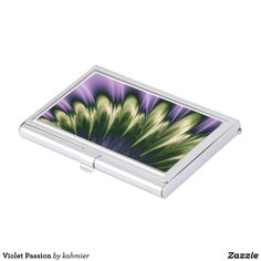 Violet Passion Business Card Case