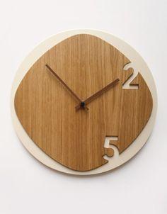 Reloj Madera Exclusivo Nordico Escandinavo Minimal Logo - $ 539,00 en MercadoLibre