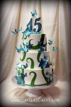 Sandra's Cakes: sweet sixteen; quinceañera