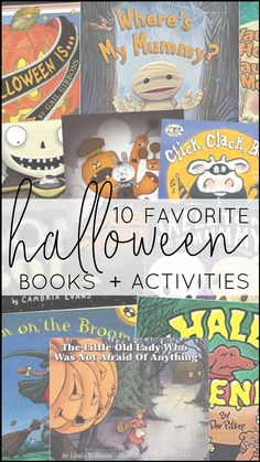 Today, I'm sharing TEN of my favorite Halloween books and activities that will fit right into your curriculum whether you teach pre-k, kindergarten, first grade, or second grade. Each book shown below matches with a set of paired activities, so that your lesson plans are ready to roll and you can simply teach!  They're Common Core standards-aligned, focused on comprehension and vocabulary, and include three differentiated assessments. BOOM DONE.