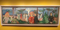 Elämän tanssi (1921), Edvard Munch