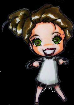 Stana Katic chibi Fanart #Stanakatic #Fania #Drawings