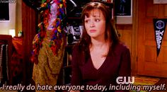 """When life got too real: 