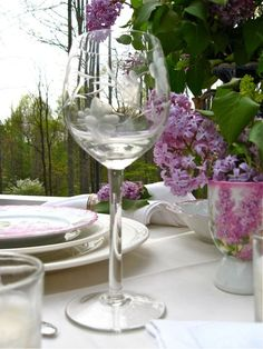 Time To Smell The Lilacs... A Lilac Table (1) From: Anita Far Above Rubies, please visit