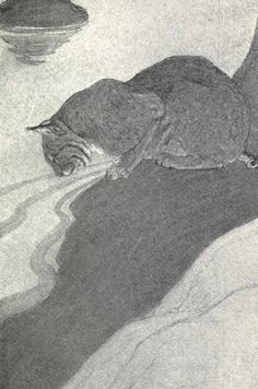 The Watchers of the Trails: A book of animal life, Charles G. D. Roberts, illustrated by Charles Livingstone Bull, 1904.