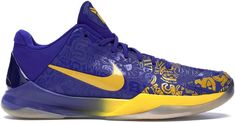 Buy and sell authentic Nike Kobe 5 5 Rings shoes and thousands of other Nike sneakers with price data and release dates. Kobe Sneakers, Kobe Shoes, Basketball Gifts, Basketball Shoes, Kobe Bryant Shoes, Bryant Lakers, Weapons Guns, My Collection, New Shoes