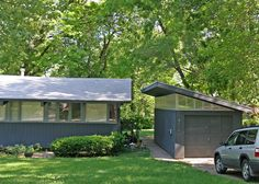 Mid Century Modern Detached Garage