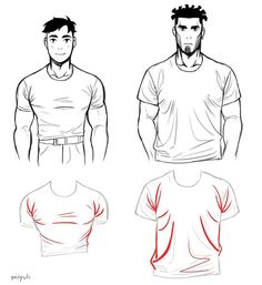 Shirt folds