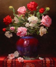 Laurie Kersey 1961   Canadian still life painter