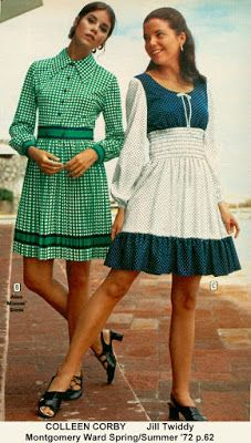 Montgomery Wards adverts with Colleen Corby and Jill Twiddy. Only Fashion, Teen Fashion, Fashion Models, Fashion Outfits, Womens Fashion, 60s And 70s Fashion, Retro Fashion, Vintage Fashion, Seventies Fashion