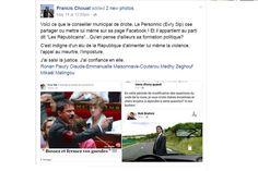 C'est une blague qui passe mal, très mal dans la commune d'Evry, ancien fief de Manuel Valls. Un agent de la ville a publié deux montages-photos d'un goût douteux sur Facebook pour se moquer du Premier ministre, notamment grimé en Hitler. La réaction a été rapide : il a été suspendu pour quatre