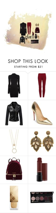 """""""You Can't Say No To This~"""" by lucy-the-marshmallow ❤ liked on Polyvore featuring beauty, adidas Originals, Chicnova Fashion, Christian Louboutin, Kate Spade, MICHAEL Michael Kors, Burberry and Naeem Khan"""