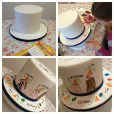 Doodle Cake - by CupcakesbyAmanda @ CakesDecor.com - cake decorating website