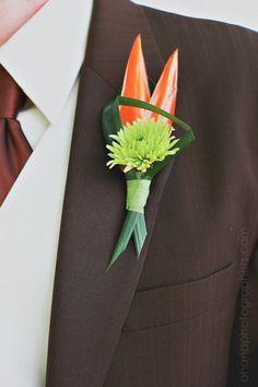 www.ohanablog.com tropical boutonniere