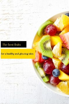 Mny fruits are packed with vitamins, nutrients annd antioxidants for a healthy skin.