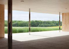Mies van der Rohe - 1:1 Modell Golfclubhaus by Robbrecht en Daem architecten