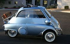 Another odd one for me, but I've always thought the BMW Isetta was cool.