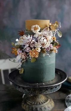 These Wedding Cakes are Literally Perfection : beautiful wedding cake unique wedding cake designs, wedding cake designs best wedding cake designs, wedding cake designs, textured wedding cakes, wedding cake trends Textured Wedding Cakes, Black Wedding Cakes, Unique Wedding Cakes, Beautiful Wedding Cakes, Wedding Cake Designs, Beautiful Cakes, Wedding Themes, Wedding Colors, Wedding Ideas