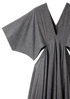 LIMI FEU /  TRAPEZE V-NECK DRESS