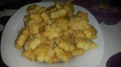 Slané syrové drobné pečivo